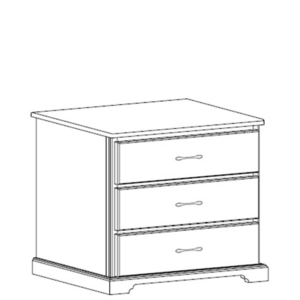 Kirkwood: Three Drawer Chest