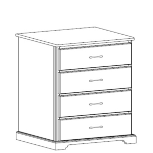 Kirkwood: Four Drawer Chest