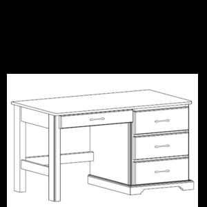 Kirkwood: Pedestal Desk