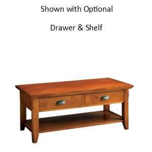 Livingston: Rectangular Coffee Table