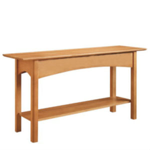 Mill Creek: Sofa Table With Shelf
