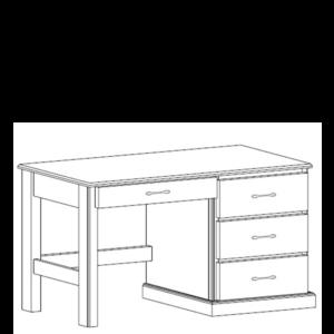 Manhattan: Pedestal Desk