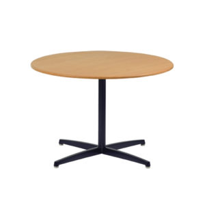 Single Metal Pedestal Table