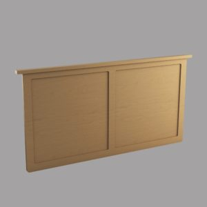 Somerset: Full/ Double Wall Mount Headboard