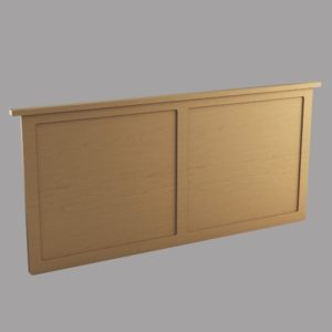 Somerset: Queen Wall Mount Headboard