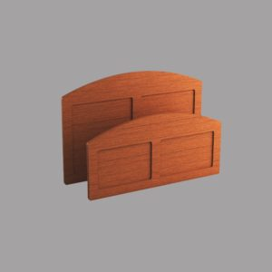 Fresno/ Kingston: Head & Footboard Set