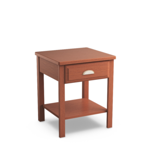 Oasis: Open Nightstand With Single Drawer
