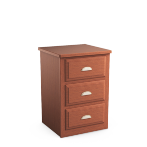 Oasis: Three Drawer Nightstand
