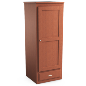 Oasis: Single Wardrobe With One Drawer