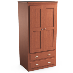 Oasis: Double Wardrobe With Two Drawers