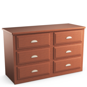 Oasis: Six Drawer Dresser