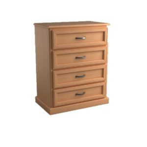 Brentwood: Four Drawer Chest