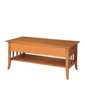 Passages: Rectangular Coffee Table With Shelf