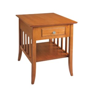 Passages: End Table With Drawer And Shelf