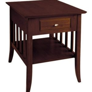 Passages – 487DS W – End Table – Darker Finish