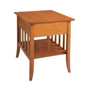 Passages: End Table With Shelf