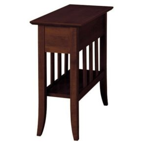 Passages – 489S W – Chairside Table – Darker Finish