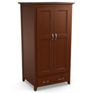 Passages: Double Wardrobe With One Drawer
