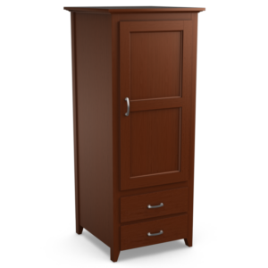 Passages: Single Wardrobe With Two Drawers