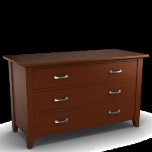 Passages: Six Drawer Dresser