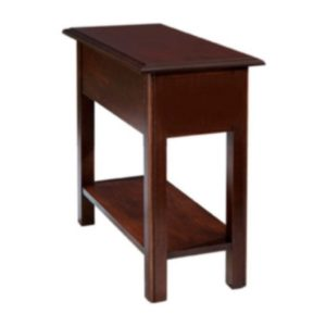 Queen Anne : Chairside Table With Shelf