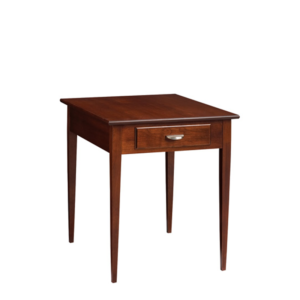 Saxony: Rectangular End Table With Drawer