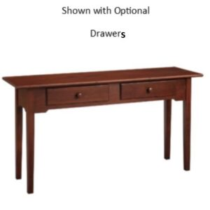 Shaker : Sofa Table