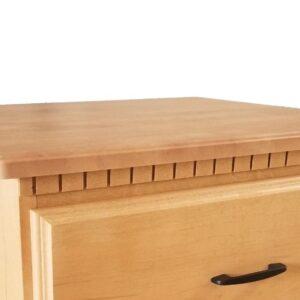 Somerset P8223 – 3 Drawer Nightstand Detail – 0340795