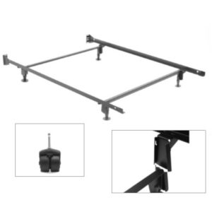 Twin Bed Frame With Rollers