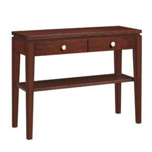 Urban Expressions: Hall Console Table With Drawer & Shelf