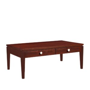 Urban Expressions: Rectangular Coffee Table With Drawer