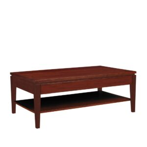 Urban Expressions: Rectangular Coffee Table With Shelf
