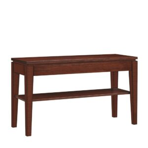 Urban Expressions: Sofa Table With Shelf