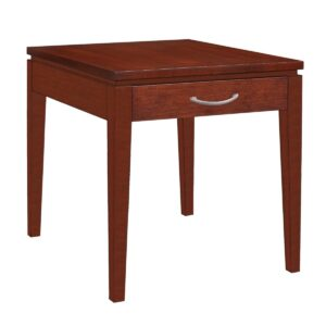 Urban Expressions: Rectangular End Table With Drawer