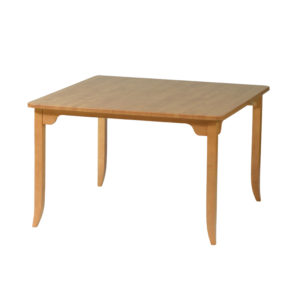 Raised Apron Table With Four Legs