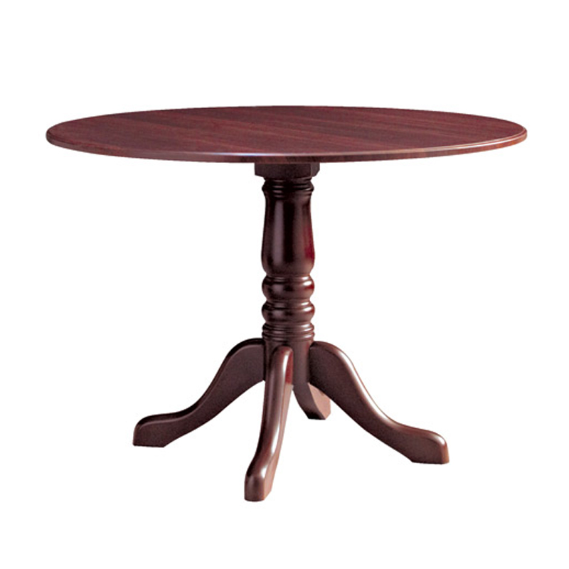 Wooden Single Pedestal Tables