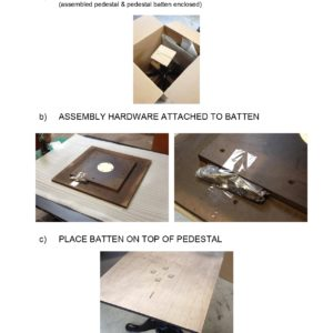 Wood Pedestal Table Assembly Instructions REV Jan 30 2019 Page 0002