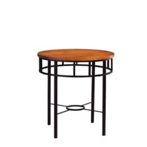 Classic Forge: Round End Table