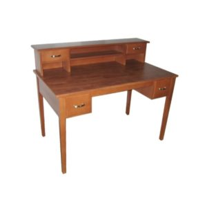 Custom Desk With Hutch