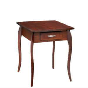 Harlo: Rectangular End Table With Drawer