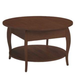 Harlo Round Coffee Table – Darker Finish