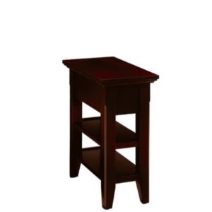 Livingston: Chairside Table With Shelf