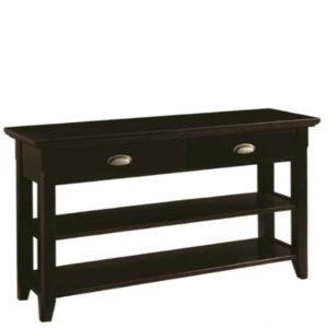 Livingston: Sofa Table With Drawer & Shelf