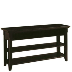 Livingston: Sofa Table With Shelf