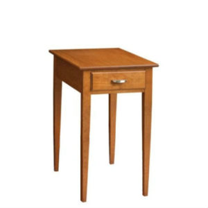 Saxony: Chairside Table With Drawer