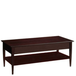 Saxony: Rectangular Coffee Table With Shelf