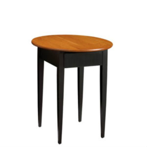 Saxony: Round End Table