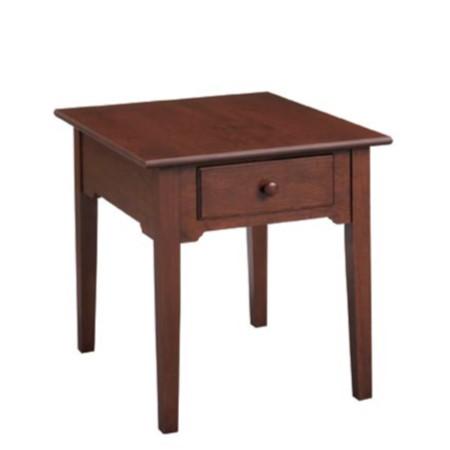 Shaker Rectangular End Table